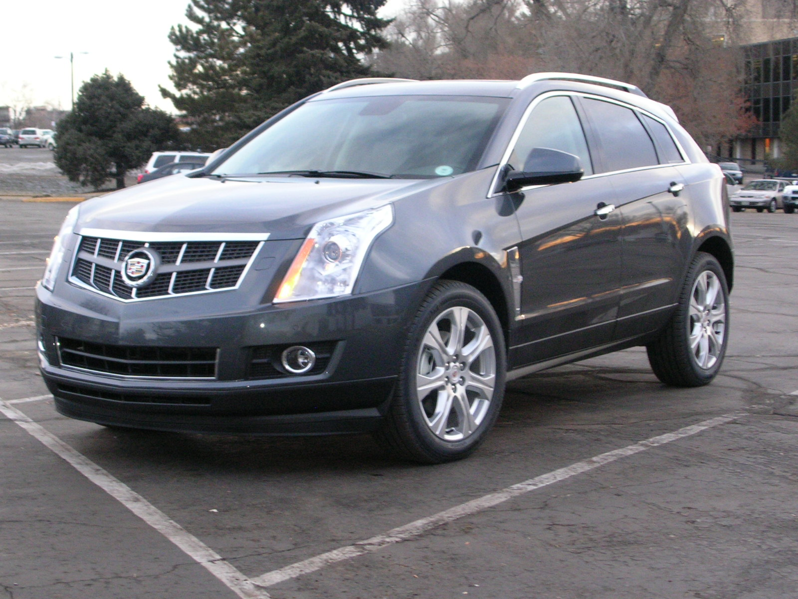 lot cadillac srx luxury cars for at sale oh moraine copart