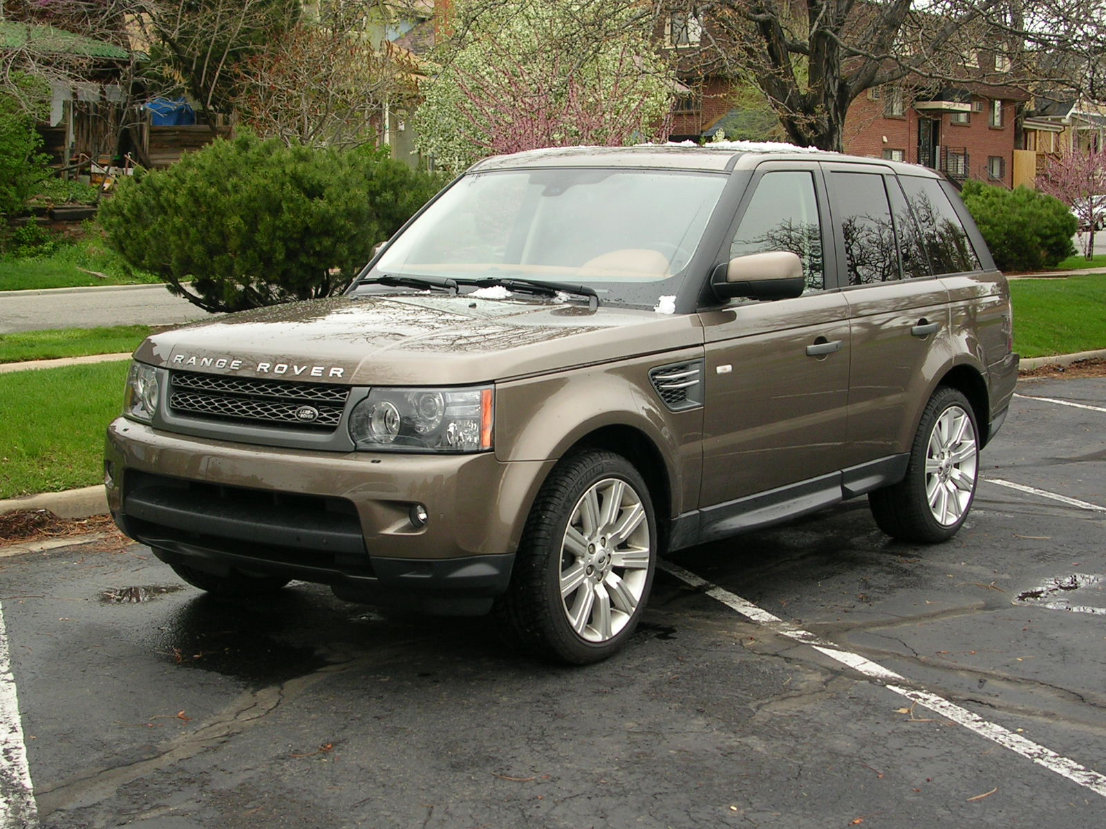 Range Rover Sport HSE all new technology for 2010
